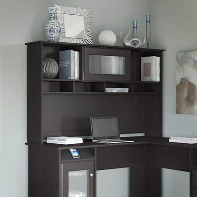 Hillsdale 36 H x 60 W Desk Hutch Finish: Espresso Oak