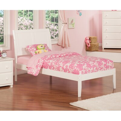 Ahoghill Extra Long Twin Sleigh Bed Color: White