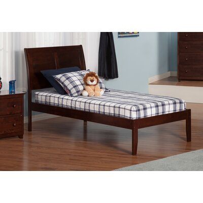 Ahoghill Extra Long Twin Sleigh Bed Finish: Antique Walnut