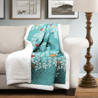 Buffalo Sherpa Throw Blanket