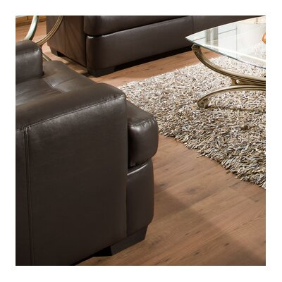 Simmons Upholstery Cates Chair Color: Espresso