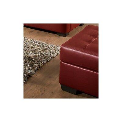 Simmons Upholstery Cates Ottoman Upholstery: Cardinal