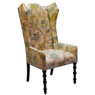 Veronica Amir Cumin Arm Chair Body Fabric: Floral