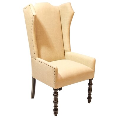 Veronica Amir Cumin Arm Chair Body Fabric: Oatmeal Linen
