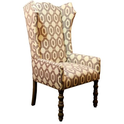Veronica Amir Cumin Arm Chair Body Fabric: Paxon Brown