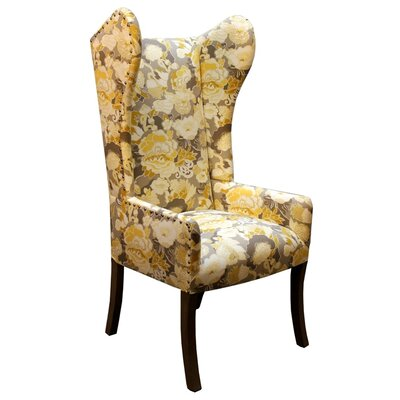 Jamar Arm Chair Body Fabric: Kiji Yellow