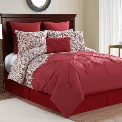 Bumgardner 8 Piece Comforter Set Size: Queen