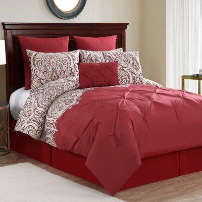 Bumgardner 10 Piece Comforter Set Size: Queen