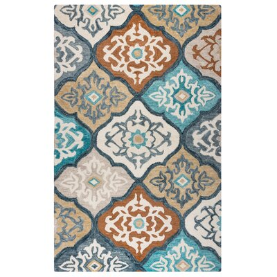 Arden Hand-Tufted Ivory Area Rug Size: Rectangle 5 x 8