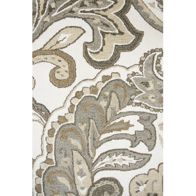 Allerton Hand-Tufted Beige/Gray Area Rug Rug Size: Rectangle 5 x 8