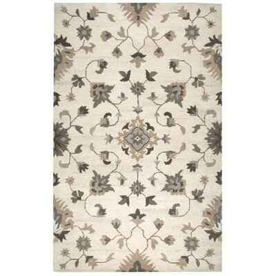 Allerton Hand-Tufted Beige Area Rug Rug Size: Rectangle 8 x 10