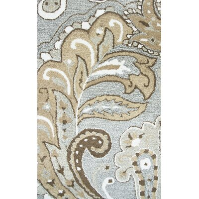 Allerton Hand-Tufted Gray/Brown Area Rug Rug Size: 9 x 12