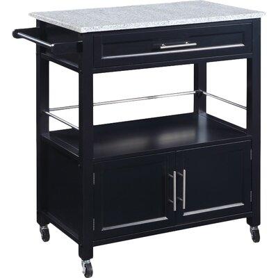 Byard Kitchen Cart with Granite Top