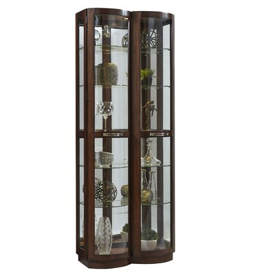 Byrnes Pacific Lighted Curio Cabinet