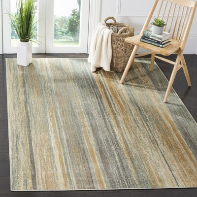 Roughtail Multi-Colored Area Rug Rug Size: Rectangle 810 x 122