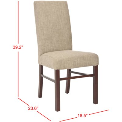 Remick Parsons Chair Finish: Olive Beige