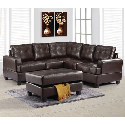 Childress Sectional Upholstery: Cappucino