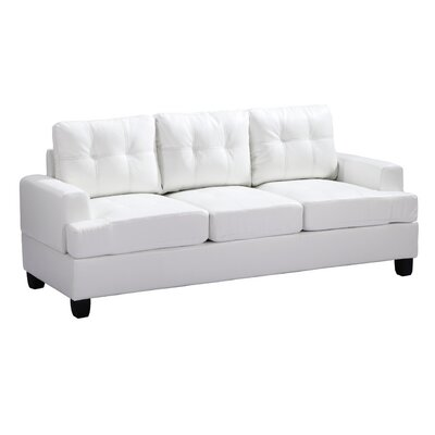 Childress Sofa Upholstery: White