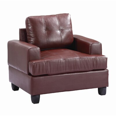 Childress Armchair Upholstery: Brown