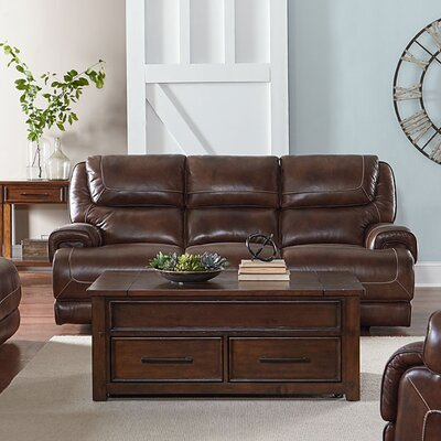Red Barrel Studio RDBL3608 Applewood Manual Motion Reclining Sofa