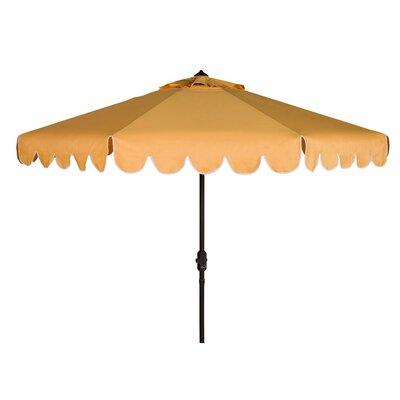 Olivares 8 Solid Crank Octagonal Drape Umbrella