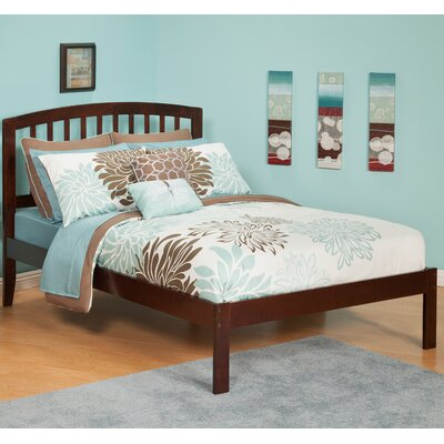 Wrington Platform Bed Color: Antique Walnut, Size: Twin