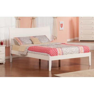 Wrington Platform Bed Color: White, Size: Queen