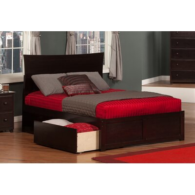 Ahoghill Storage Platform Bed Color: Espresso, Size: Full
