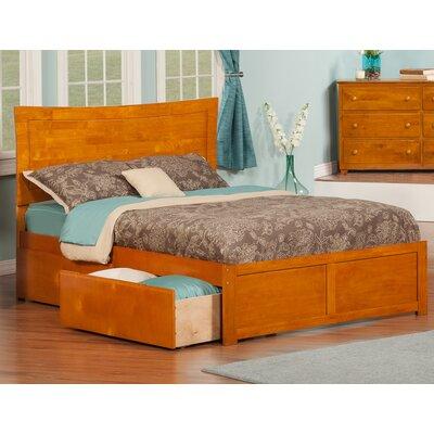 Wrington Storage Platform Bed Color: Caramel Latte, Size: Queen
