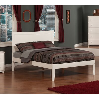 Ahoghill Platform Bed Size: Full, Finish: White
