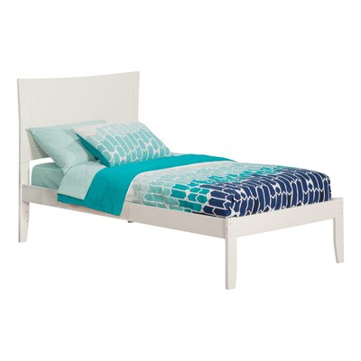 Ahoghill Platform Bed Size: Twin, Finish: White