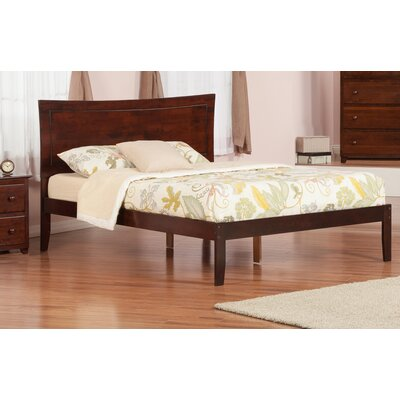 Ahoghill Storage Platform Bed Color: Antique Walnut, Size: Queen