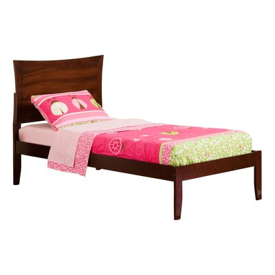 Ahoghill Platform Bed Finish: Antique Walnut, Size: Twin