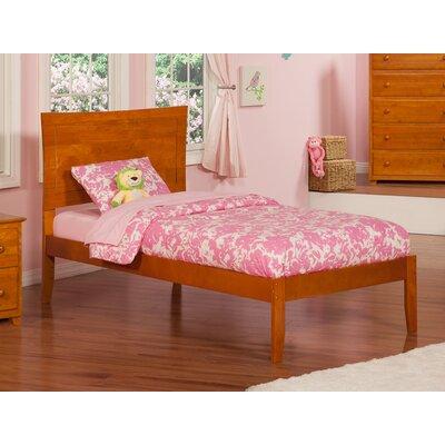 Ahoghill Platform Bed Size: Twin, Finish: Caramel Latte