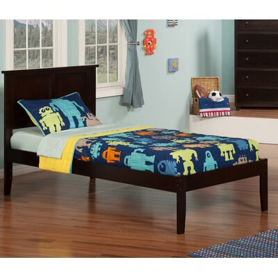 Ahoghill Platform Bed Size: Twin, Finish: Espresso