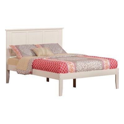 Ahoghill Platform Bed Size: Full, Finish: White