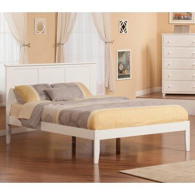 Wrington Platform Bed Color: White, Size: Twin