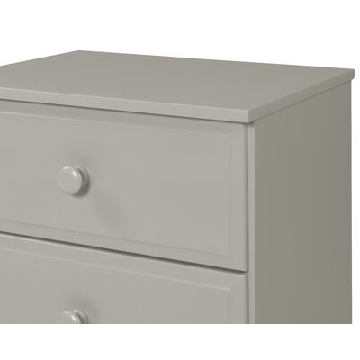 Aster 3 Drawer Narrow Chest Finish: Grey