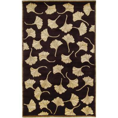 Jamaris Chocolate Area Rug Rug Size: Rectangle 9 x 13