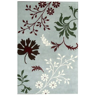 Bartlet Blue Rug Rug Size: Rectangle 36 x 56
