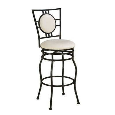 Vinciguerra Swivel Bar Stool
