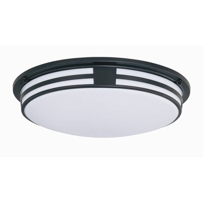 Climer 3.75 1-Light Acrylic Flush Mount