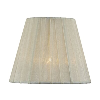 5 Fabric Empire Candelabra Shade Color: Cream