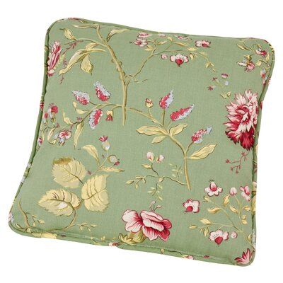 Englewood Coventry Pillow Color: Green