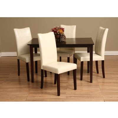 Etelvina 5 Piece Dining Set