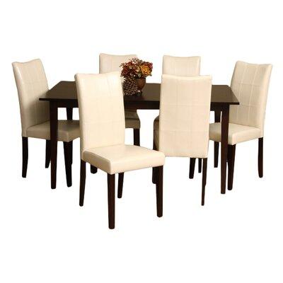 Etelvina 7 Piece Dining Set
