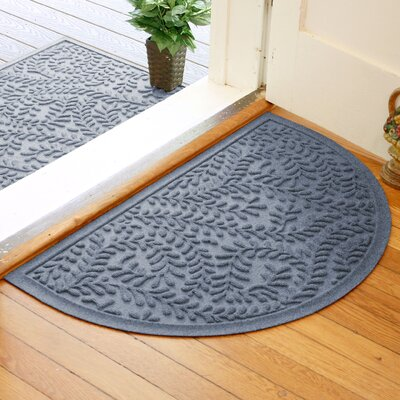 Fairborn Aqua Shield Boxwood Doormat Color: Bluestone