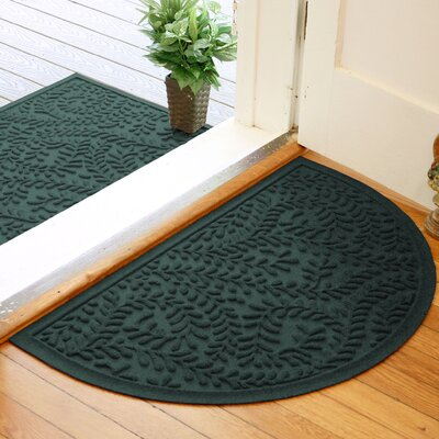 Fairborn Aqua Shield Boxwood Doormat Color: Evergreen