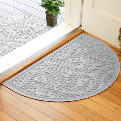 Fairborn Aqua Shield Boxwood Doormat Color: White