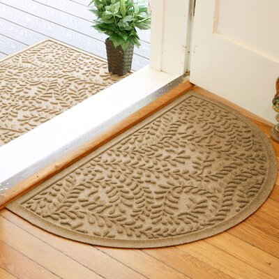 Fairborn Aqua Shield Boxwood Doormat Color: Gold